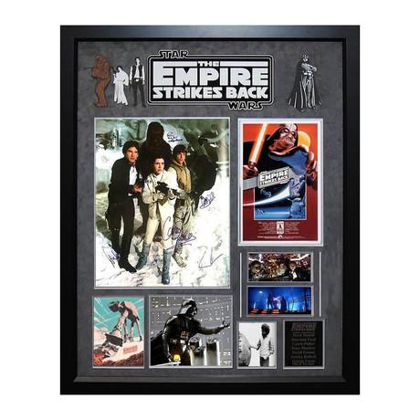 Signed + Framed Collage // Star Wars Episode V: The Empire Strikes Back