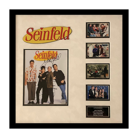 Signed + Framed Collage // Seinfeld