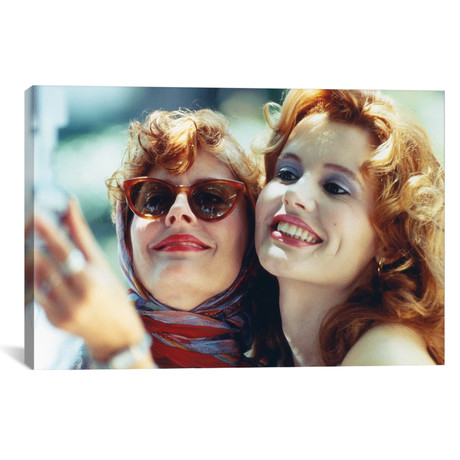 "A Film Still From Thelma & Louise (18""W x 26""H x 0.75""D)"