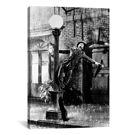 "Gene Kelly // Singing In The Rain (18""W x 26""H x 0.75""D)"