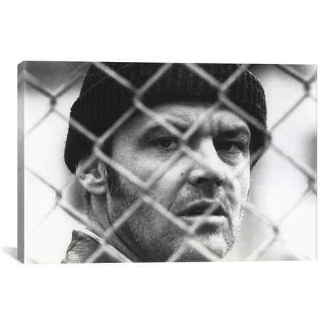 "Jack Nicholson // One Flew Over The Cuckoo's Nest (18""W x 26""H x 0.75""D)"