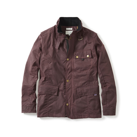 Bexley Jacket // Oxblood (S)
