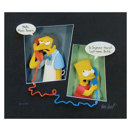"The SImpsons ""Crank Call"" // Tim West"