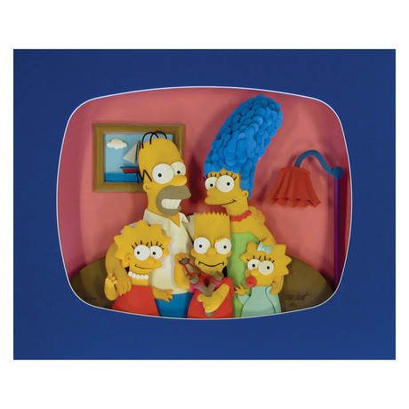 "The Simpsons ""The Family"" // Tim West"