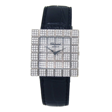 Chopard Ice Cube Quartz // 1366901001 // Pre-Owned