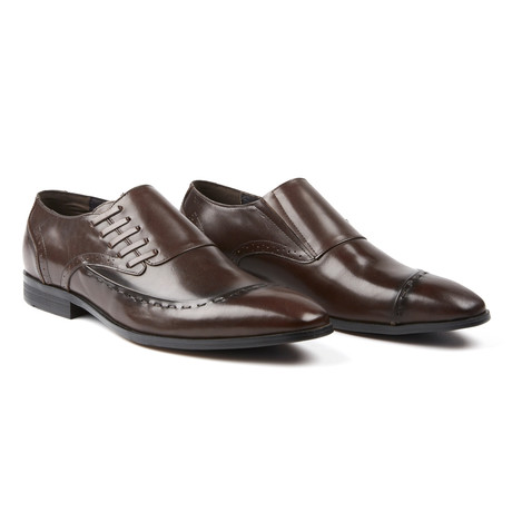 The Bruntsfield Slip-On Dress Formal // Brown (US: 7.5)
