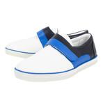 Bottega Veneta // Leather Velcro Strap Sneakers // White (US: 10)