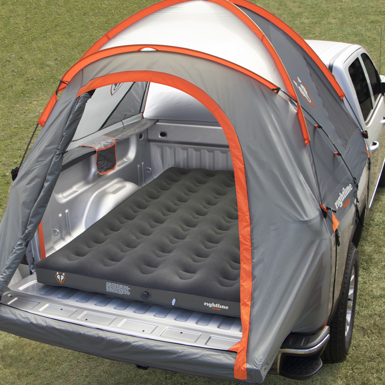 Full Size Truck Tent + Truck Bed Air Mattress Combo (Short Bed