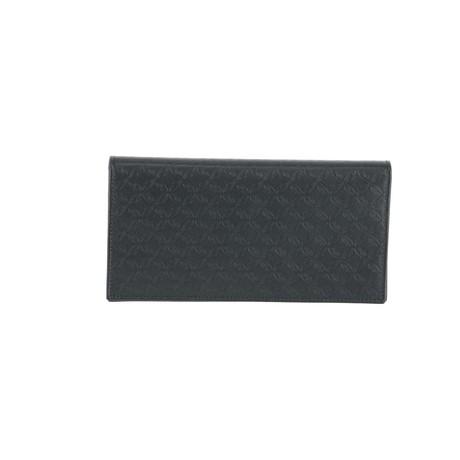 Travel Document Case // Black + Gray