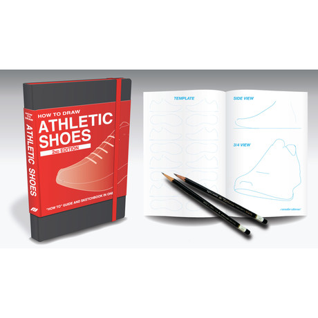 How to Draw: Athletic Shoes // Limited Edition