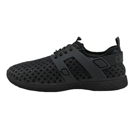 Axel Ly Sneakers // Total Black (US: 7)