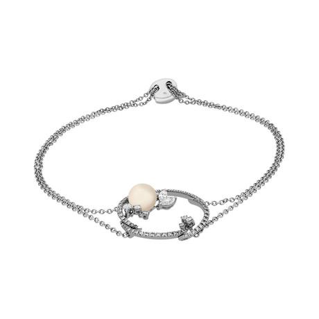 Stefan Hafner 18k White Gold Multi-Stone Bracelet