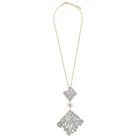 Stefan Hafner 18k Rose Gold Diamond Necklace