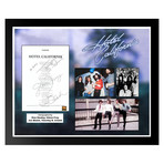 Signed + Framed Lyric Collage // The Eagles