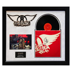 Signed + Framed Album Collage // Aerosmith