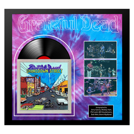 Framed Autographed Collage // Grateful Dead // Collage II