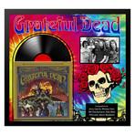 Signed + Framed Album Collage // Grateful Dead