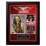 Signed + Framed Collage // Aerosmith