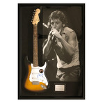 Signed + Framed Guitar // Poster Display // Bruce Springsteen