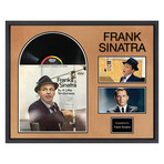 Signed + Framed Album Collage // Frank Sinatra