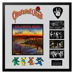 Signed + Framed Album Collage // Deadset // Grateful Dead