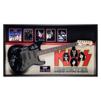 Signed + Framed Guitar // Kiss