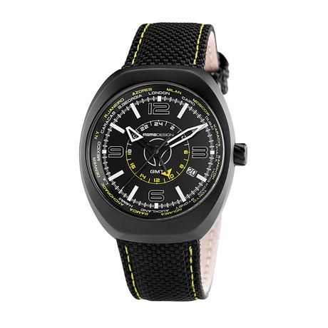 MOMO Design Sport GMT Quartz // MD7001BK-23