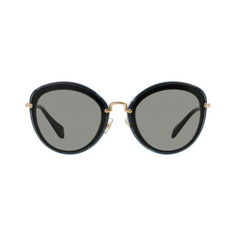 Miu Miu // Steel Sunglasses // Gray Black + Gray