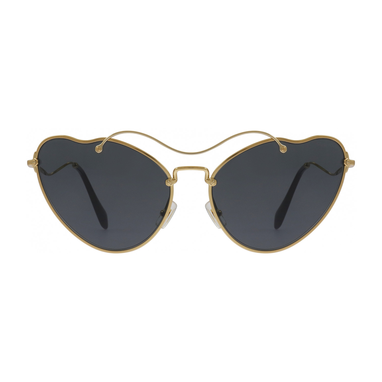 314d298e3dc 96f97137e35f757b873c76871d6e523a medium. Miu Miu    Women s Sunglasses     Antique Gold + Grey Gradient