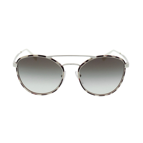 Prada // Women's Aviator // Spotted Opal Rown + Grey Gradient