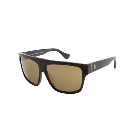 Balenciaga // Women's Cat Eye Sunglasses // Brown Havana