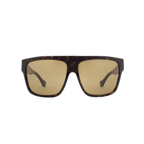 Balenciaga // Cat Eye Sunglasses // Brown Havana