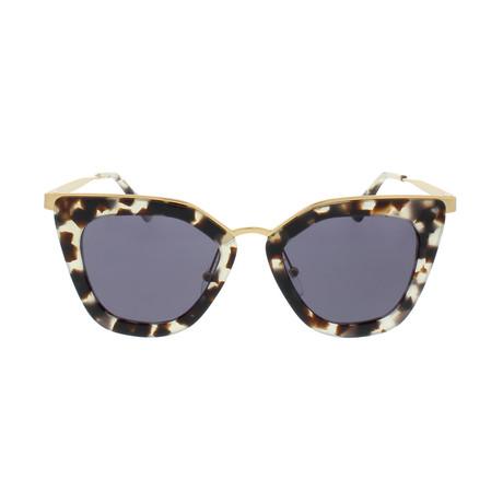 Prada // Women's Sunglasses // White Havana Violet + Violet