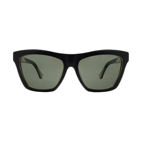 Balenciaga // Cat Eye Sunglasses // Pebble Black + Gray