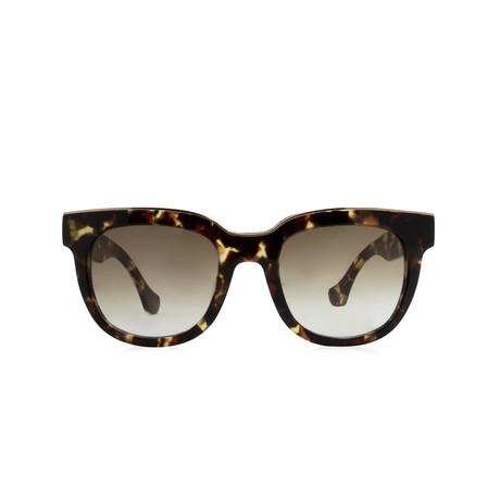 Balenciaga // Round Sunglasses // Colored Horn + Smoke