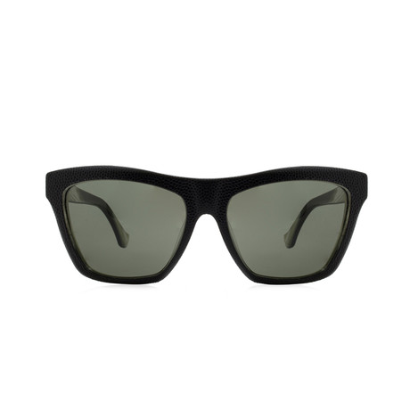 Balenciaga // Cat Eye Sunglasses // Shiny Black + Gradient Smoke