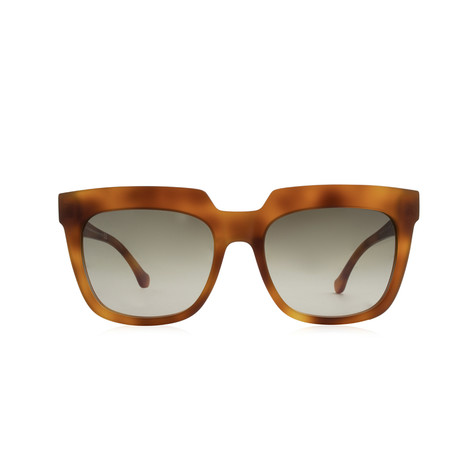 Balenciaga // Large Square Sunglasses // Blond Havana + Brown Gradient