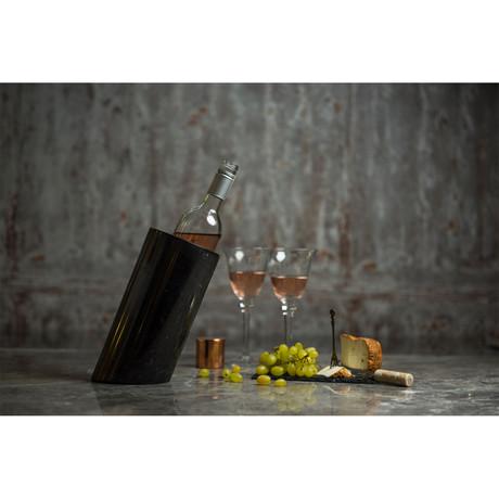Nero Wine Rack // Angled