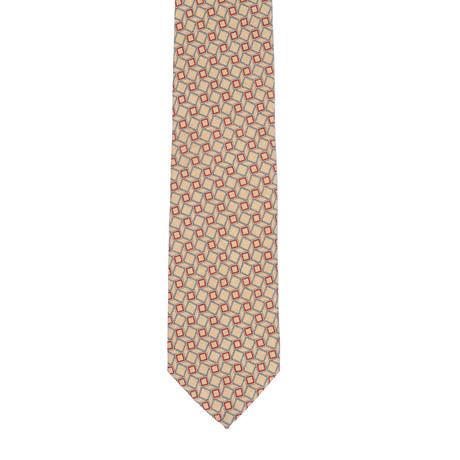 Borelli Napoli // Geometric Tie // Beige