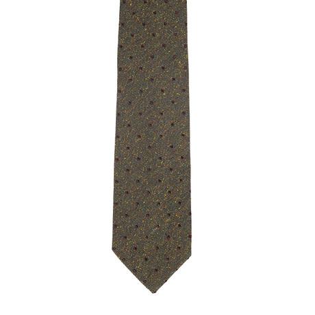 Borelli Napoli // Geometric Tie // Green + Multi