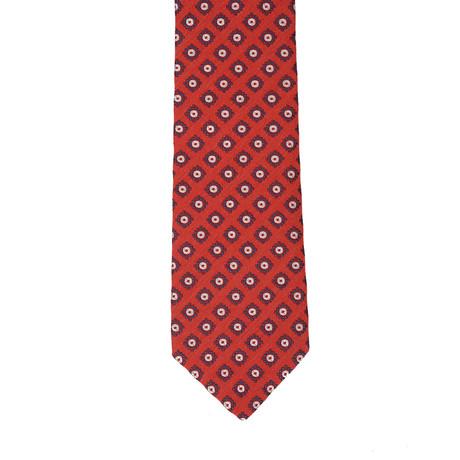 Borelli Napoli // Geometric Tie // Red