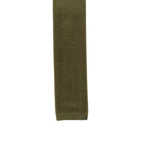 i Gemelli // Skinny Tie // Green