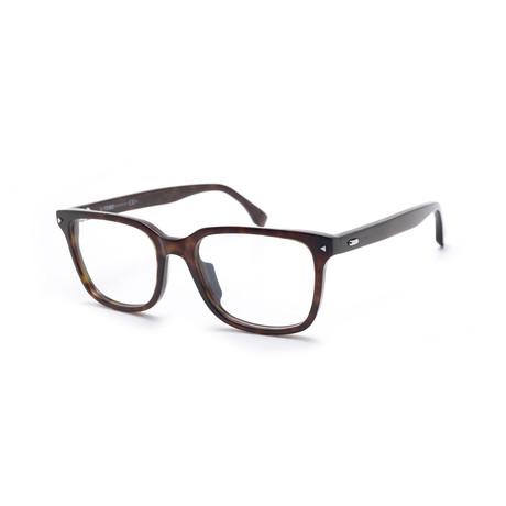 Fendi // FF-0220 Eyeglass Frames // Havana Black