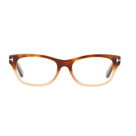 Tom Ford // Unisex Squared Eyeglass Frames // Brown