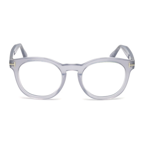 Tom Ford // Round Eyeglass Frames // Grey Crystal