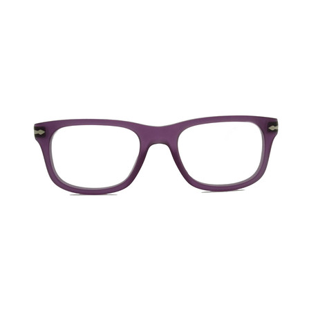 Acetate Wayfarer Eyeglass Frames // Purple
