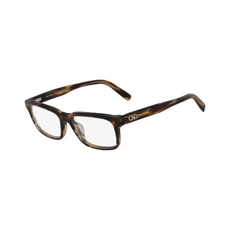 Ferragamo // SF2781 Rectangle Eyeglass Fames // Havana