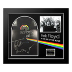 "Signed + Framed Album Collage // Pink Floyd ""Dark Side of the Moon"""