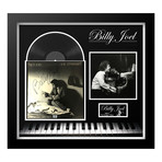 "Signed + Framed Album Collage // Billy Joel ""The Stranger"""