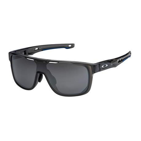 Men's Crossrange Shield Sunglasses // Gray + Prizm Black